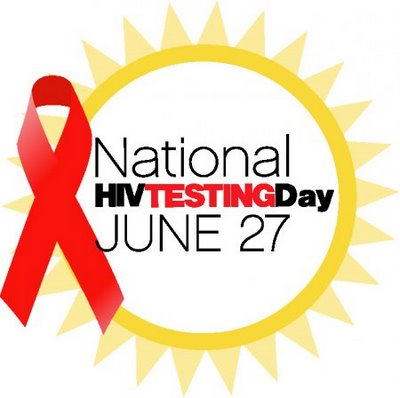 National HIV Testing Day is June 27th