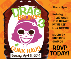 Drag Brunch 3 on April 6, 2014