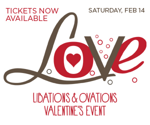 Libations & Ovations Valentine's Event 2015