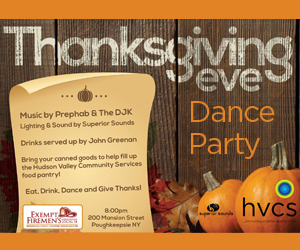 Thanksgiving Eve Dance Party and Food Drive