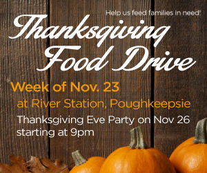 Thanksgiving Food Drive + Thanksgiving Eve Party