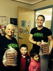 Sofregit donates their Red Herb Butter to our Poughkeepsie food closet