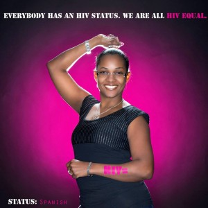 Claribel at HIV Equal