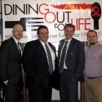 HVCS' J. Dewey, New York Hospitality Group's Peter Giannini, NYHG's David Pellon, and HVCS' Anthony Accomando