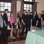 """The cast of """"Rent: School Edition"""" sang """"Seasons of Love"""" at our kickoff."""