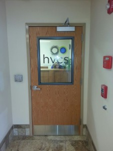 The front door to our new Monticello office space