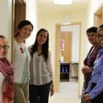 A few of HVCS' client services staffers.