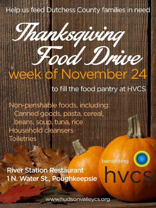 Thanksgiving Week Food Drive at River Station