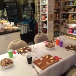 An array of gourmet goods inside the Beacon Pantry.