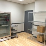 Our new larger food pantry!