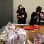 MAC Cosmetics volunteers at our Poughkeepsie office