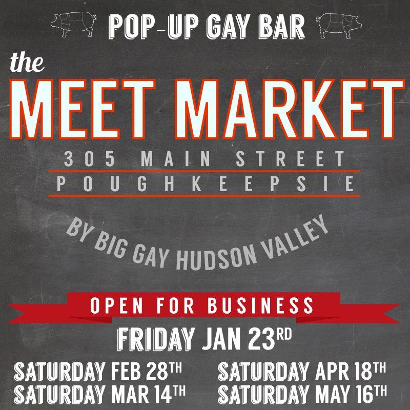 Big Gay Hudson Valley's Meet Market Pop-Up Bar