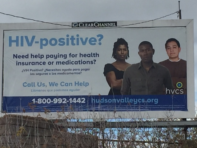 HVCS' Medical Benefits Specialists billboard in Kingston