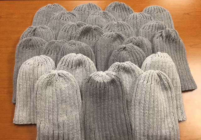 Handmade winter hats