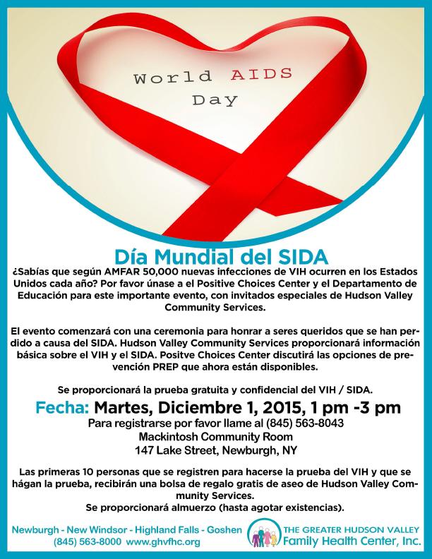 SIDA/VIH World AIDS Day