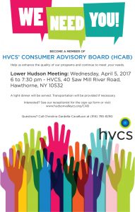 Lower Hudson Consumer Advisory Board April 2017
