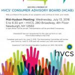 HVCS' Mid-Hudson Consumer Advisory Board meeting