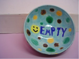 Photo of a painted bowl