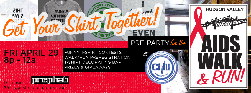 AIDS Walk & Run Pre-Party: Funny T-Shirt Contest