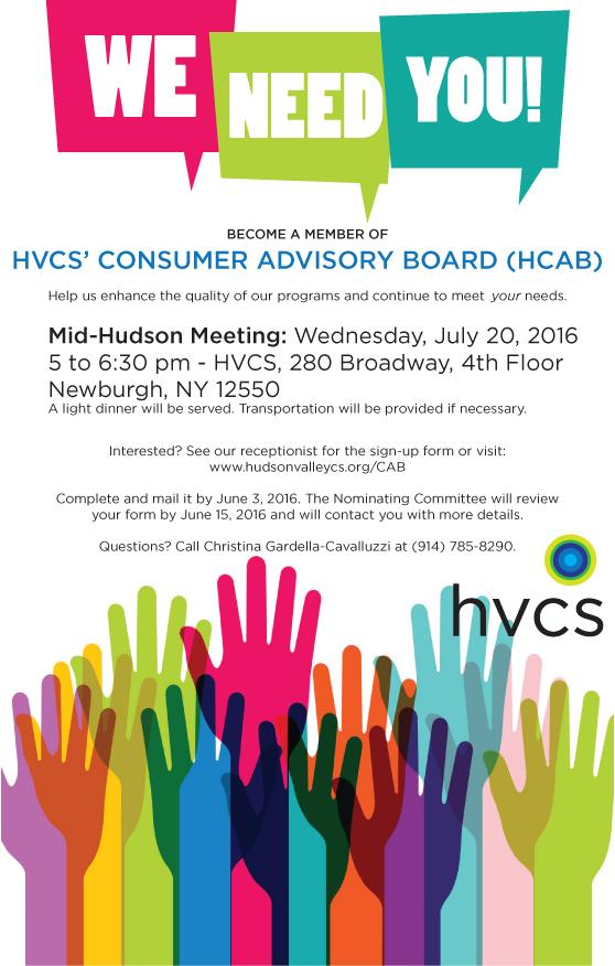Mid-Hudson Consumer Advisory Board Flyer