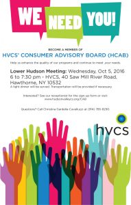 Lower Hudson CAB meeting on October 5