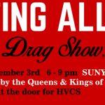 Testing All Queens: Drag Fundraiser on Dec 3 2016