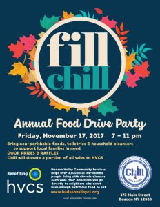 Fill Chill Annual Food Drive Party