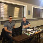 Frank Barone and SEP Program Supervisor, Andrew Reid