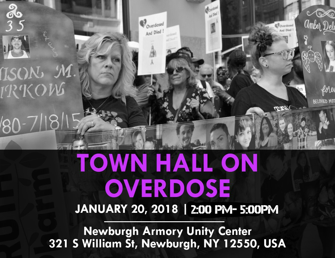 Newburgh hvcs town hall on opioid overdose this saturday in newburgh fandeluxe Image collections