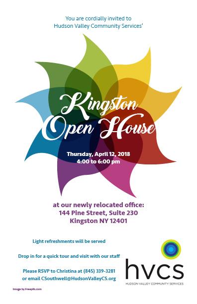 Kingston Open House April 12