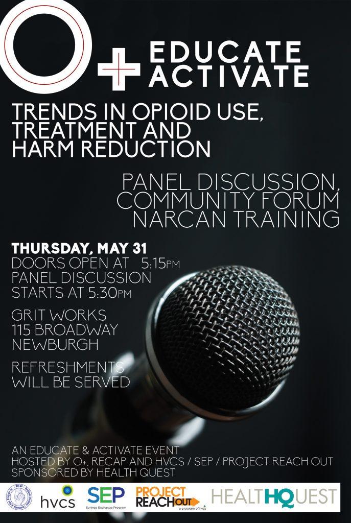 O+ Festival Opioid Forum