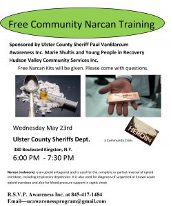 Ulster Sheriff's Narcan Training