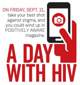 A Day With HIV Logo