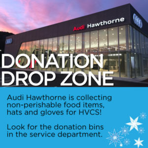 Audi Hawthorne donation drop zone