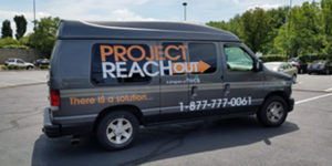 Project Reach Out van