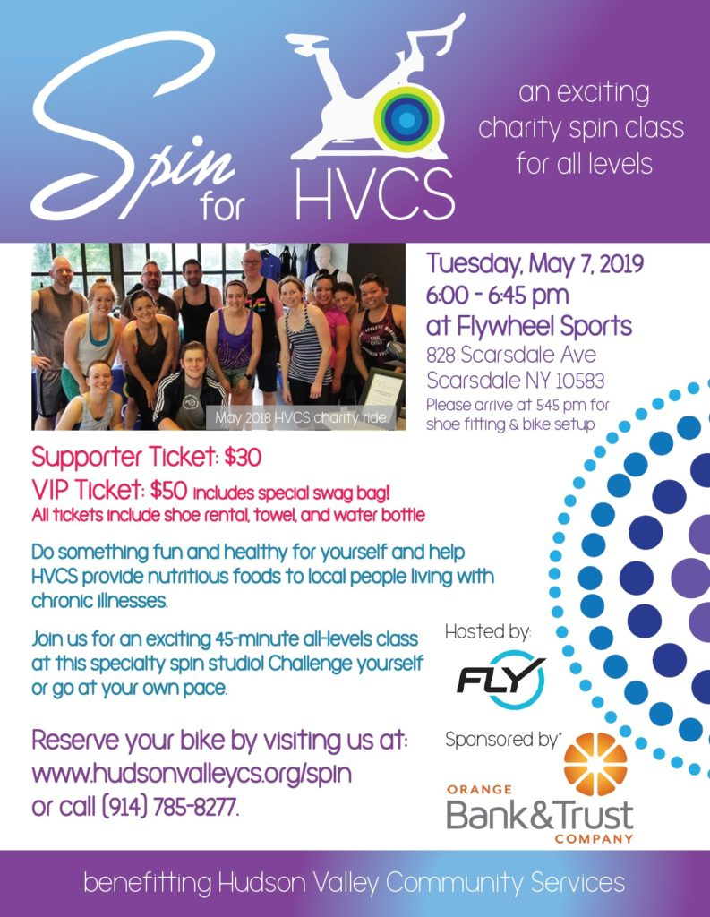 Spin for HVCS flyer