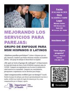 Spanish MSM Focus Group