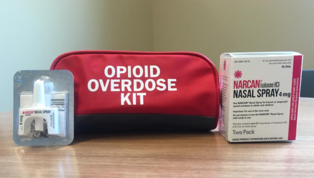 Narcan overdose kit
