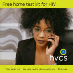 Free home test kit for HIV