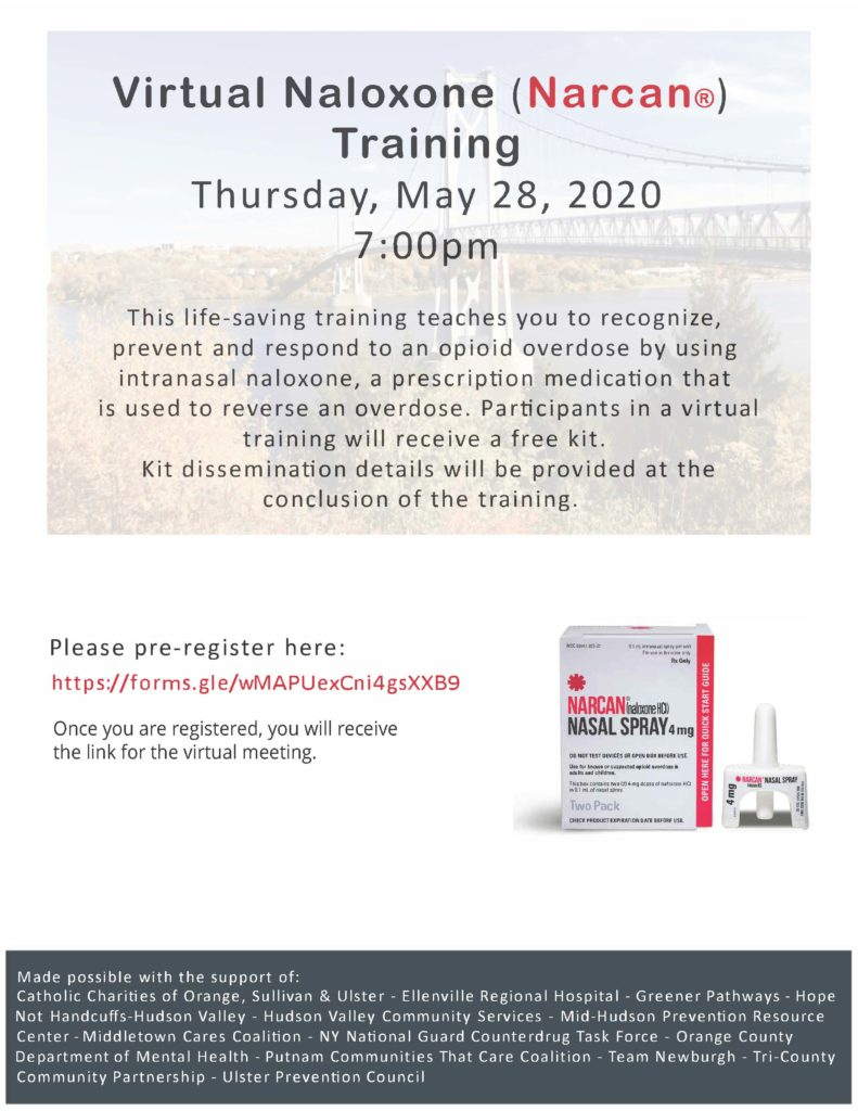 Regional Naloxone Training Flyer FINAL