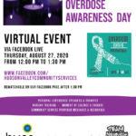 International Overdose Awareness Day Virtual Event