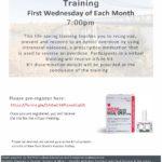Regional Naloxone Training Monthly Flyer