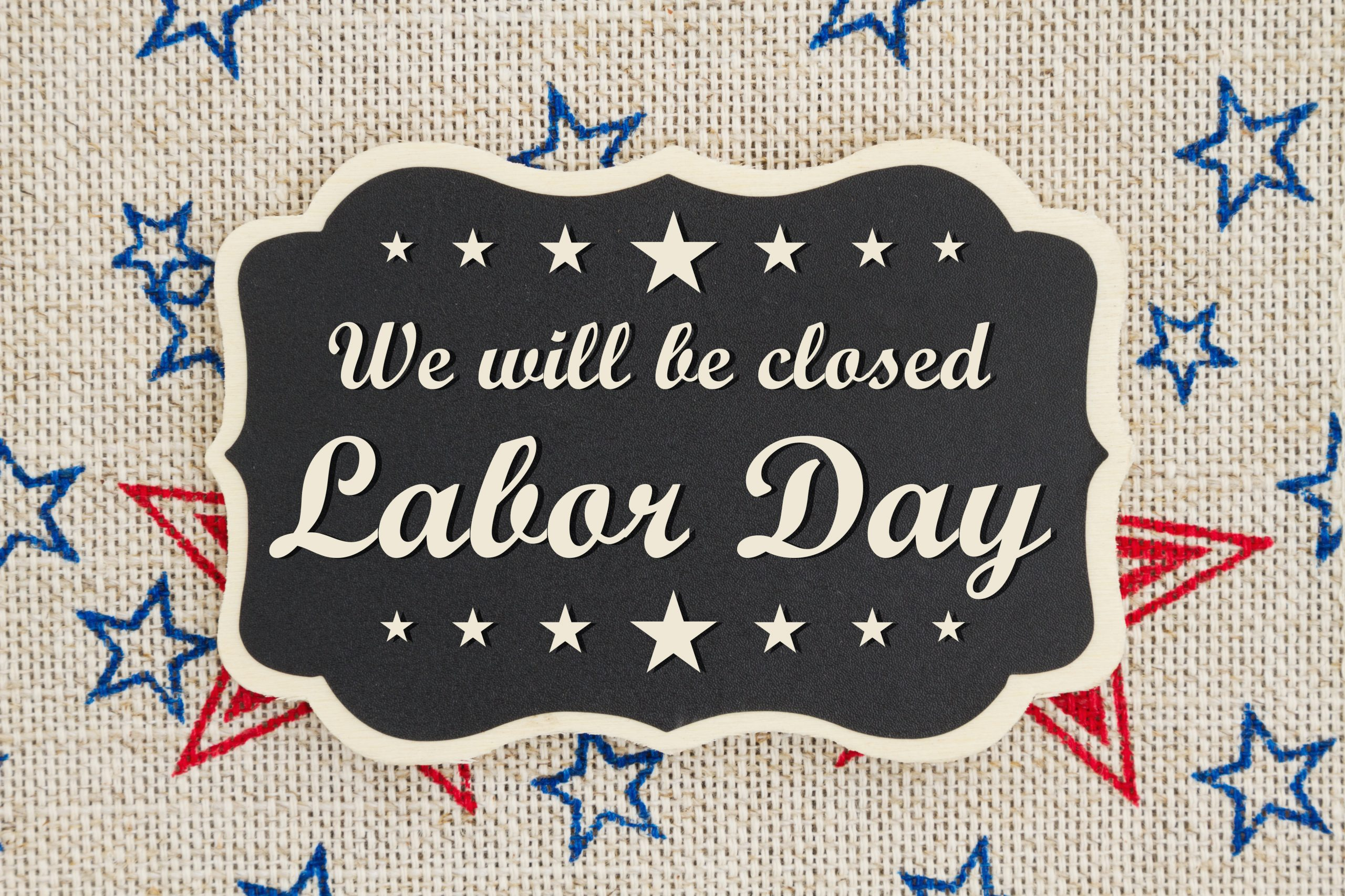 Labor Day, offices closed