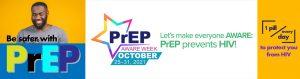 PrEP Aware Week October 25-31